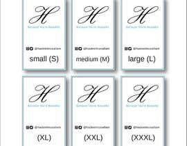 nº 6 pour Design Clothing Inner Tags par mcreativestudio