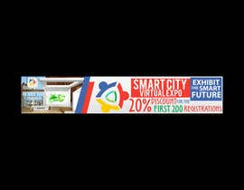 nº 6 pour Smart City Virtual Expo banner par freelancerdez