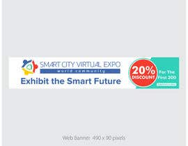 nº 15 pour Smart City Virtual Expo banner par alomgirdesigner