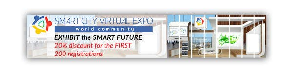 Proposition n°9 du concours Smart City Virtual Expo banner