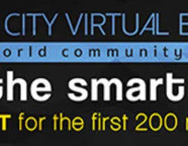 nº 10 pour Smart City Virtual Expo banner par BonaFideGPX