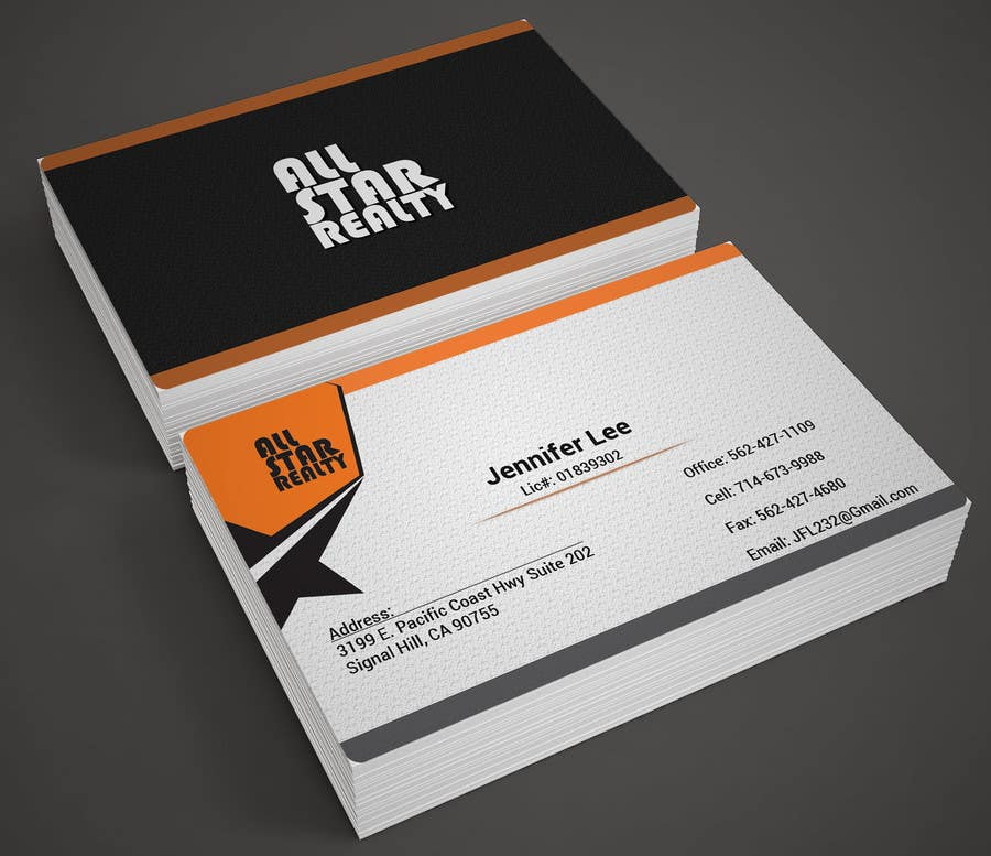 Proposition n°261 du concours Business Card Design for Real Estate Office