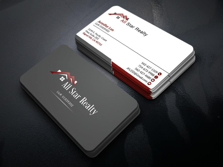 Proposition n°174 du concours Business Card Design for Real Estate Office