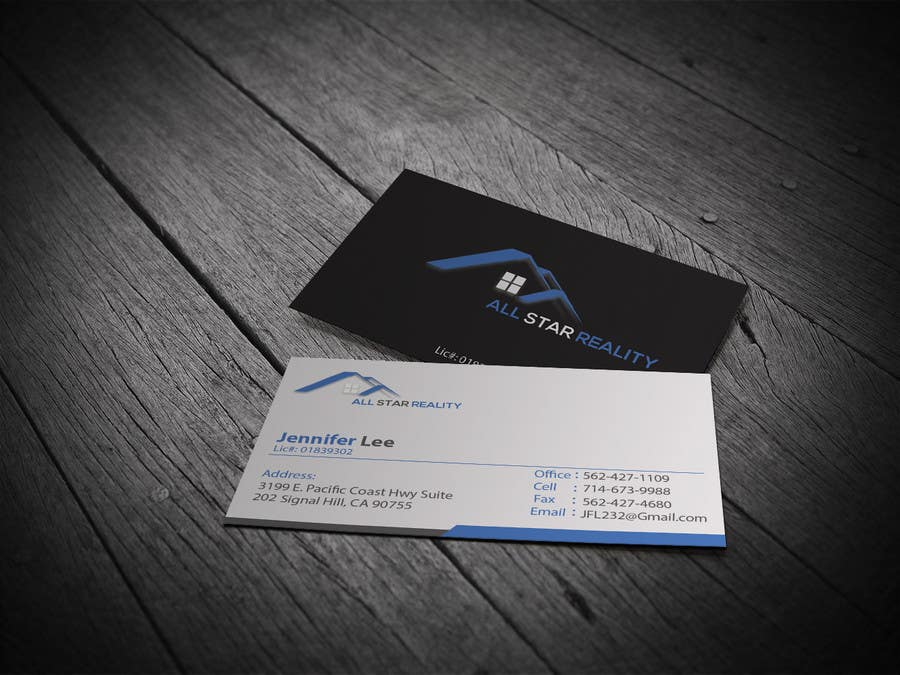 Proposition n°145 du concours Business Card Design for Real Estate Office