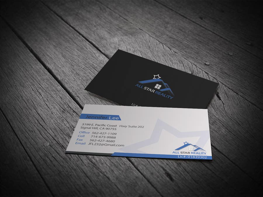 Proposition n°221 du concours Business Card Design for Real Estate Office