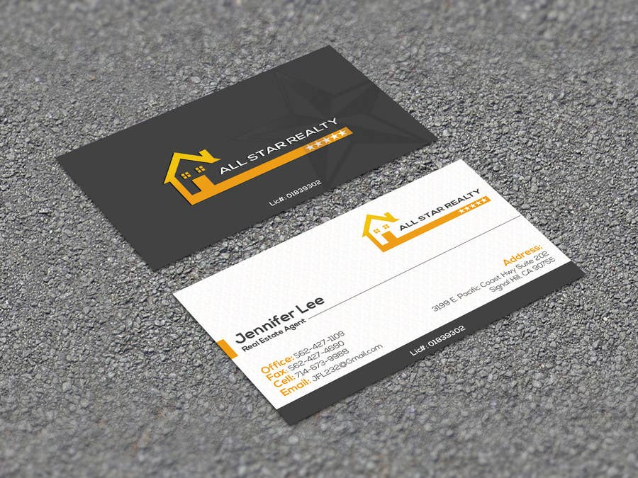 Proposition n°311 du concours Business Card Design for Real Estate Office