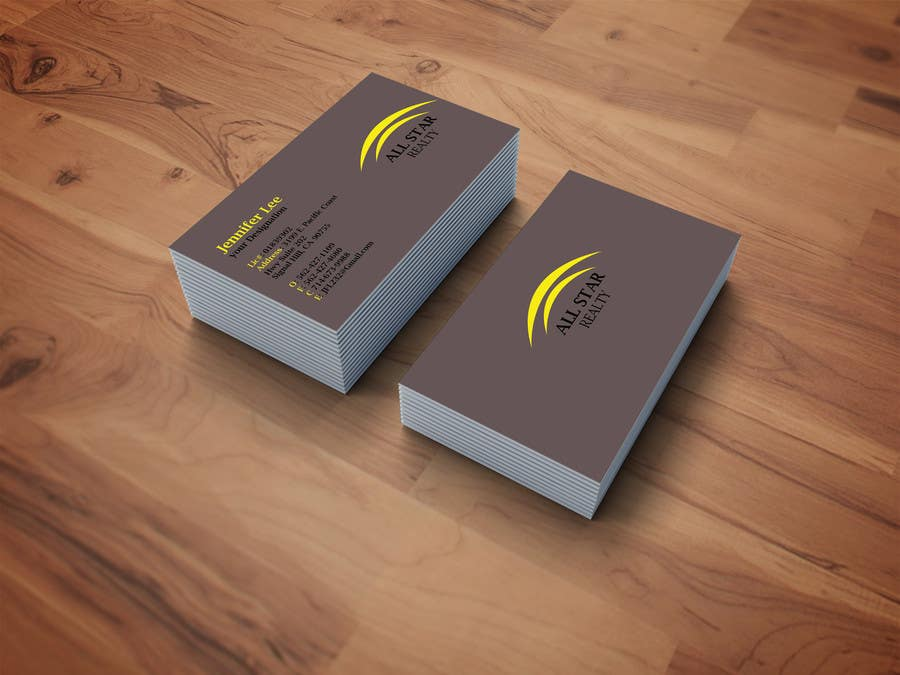 Proposition n°269 du concours Business Card Design for Real Estate Office