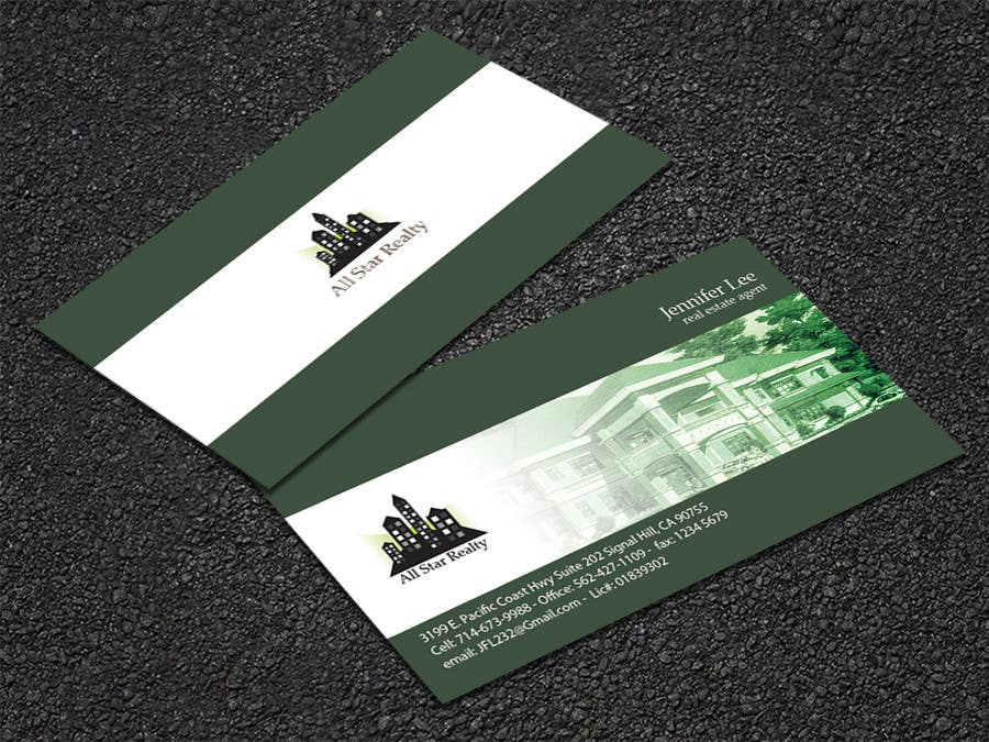 Proposition n°306 du concours Business Card Design for Real Estate Office