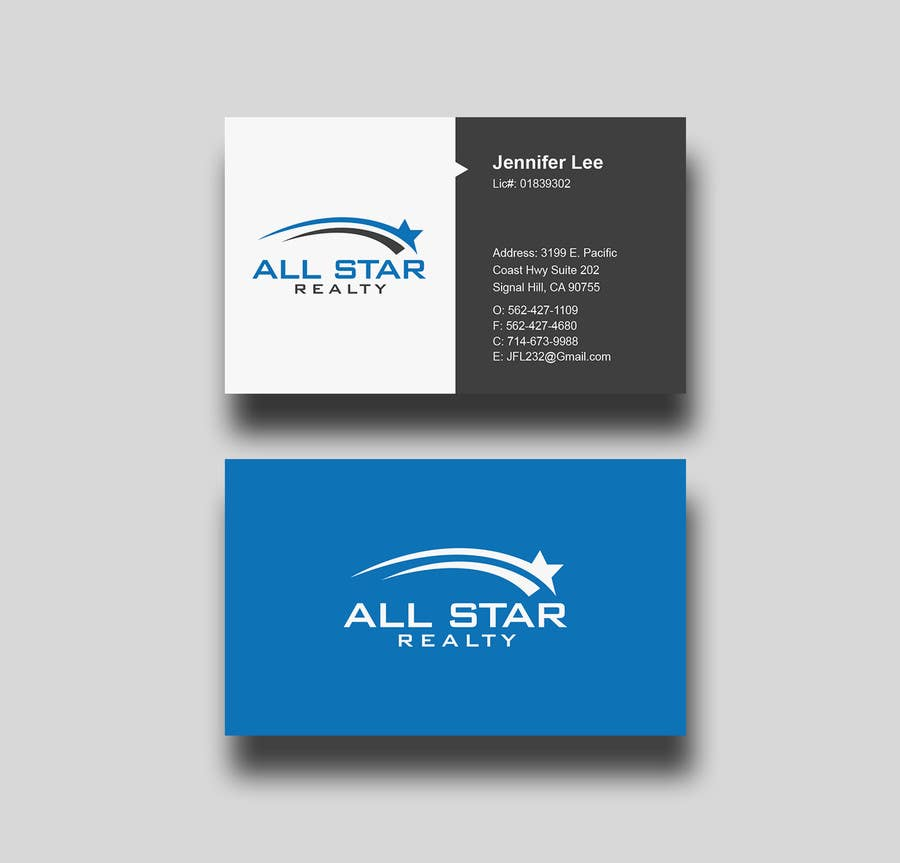 Proposition n°206 du concours Business Card Design for Real Estate Office