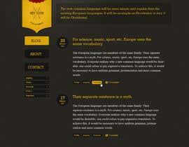 nº 4 pour Design a social media site par whyssonstudio