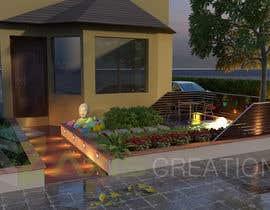 nº 11 pour Design a small landscape design for my front yard par chintanmraval