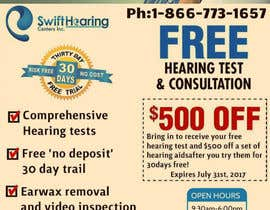nº 3 pour Annual hearing test postcard (for marketing) par cnsoftinfo