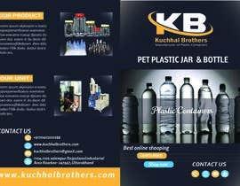 nº 9 pour Design a Brochure for Plastic Container Manufacturer par mariamsadia09