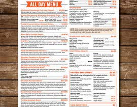 nº 30 pour Cafe Menu Design par karimulgraphic