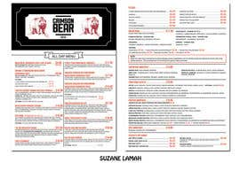 nº 29 pour Cafe Menu Design par Suzane6