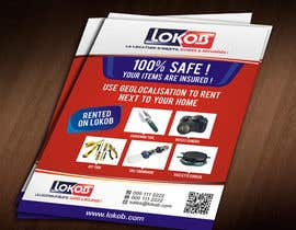 Jabinhossain tarafından Advertisement Design (Flyer/A4) for a New Start-up (Lokob.com) için no 25