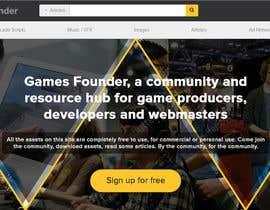 nº 13 pour Indie Game Developer Banner par rayhansumon