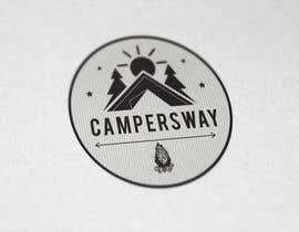 nº 38 pour Design A Camping Logo par SafiWaseem