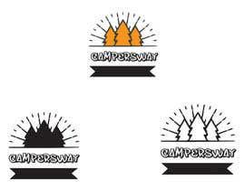 nº 56 pour Design A Camping Logo par shanto38
