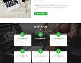 nº 7 pour Design a Website Mockup par husainmill