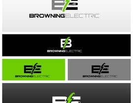 #60 untuk Logo Design for Browning Electric Company Inc. oleh maidenbrands