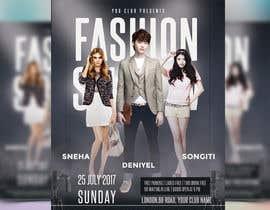 nº 70 pour Design a Flyer for a Fashion Show par joymarma11