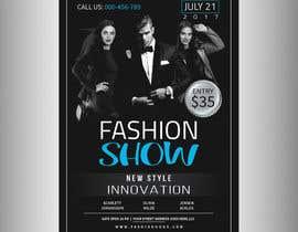 nº 72 pour Design a Flyer for a Fashion Show par Pixelgallery
