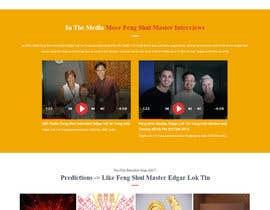 nº 5 pour Design a Website Mockup par zaxsol