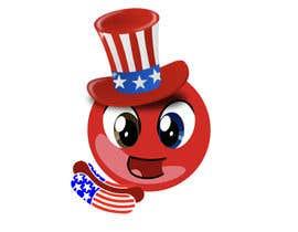 nº 66 pour 4th of July Emoji Design contest! - 10 Emoji submittal par johnlevendal123