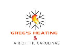 nº 17 pour Gregs Heating and Air Logo par hafiz62