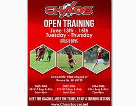 nº 9 pour URGENT Design a Flyer Advertising Open Training for our Club par sofyandfk