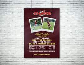 nº 10 pour URGENT Design a Flyer Advertising Open Training for our Club par marktiu66