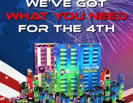 nº 24 pour Fireworks Sales Banners par violasziky