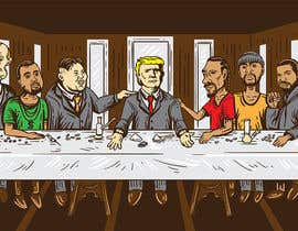 #13 for Illustrate Something parody of the last supper af aghits