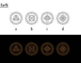 nº 7 pour Elemental icons for book cover par ledinhan2596