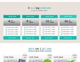 nº 4 pour Design a Website Mockup par ibrahimbd2042