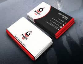 nº 36 pour Design some Business Cards for a Mobile Oil Change Company par monirjony