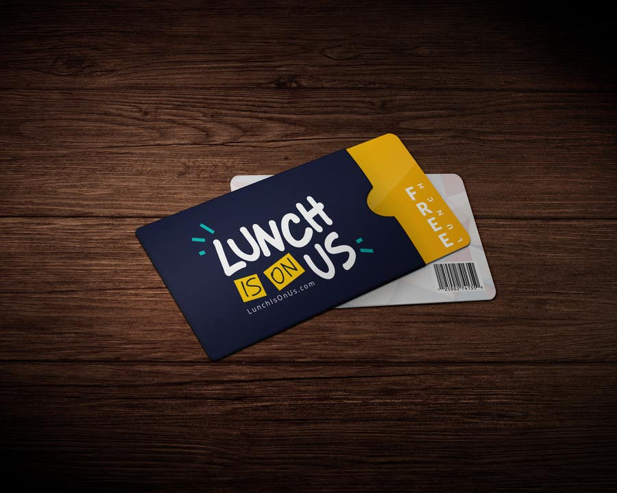Proposition n°418 du concours Lunch Is On Us Logo