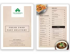 nº 67 pour Restaurant MENU Design (for Delivery restaurant) par abhimanyu3