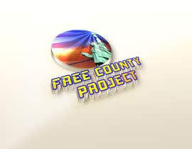 nº 6 pour Logo for the Free County Project par ibrahimhosen333
