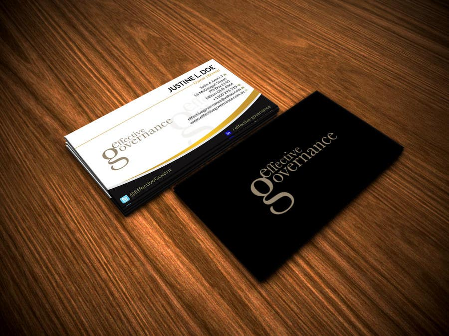 Entry #24 by renelyncamil for Design a business card for Denise ...