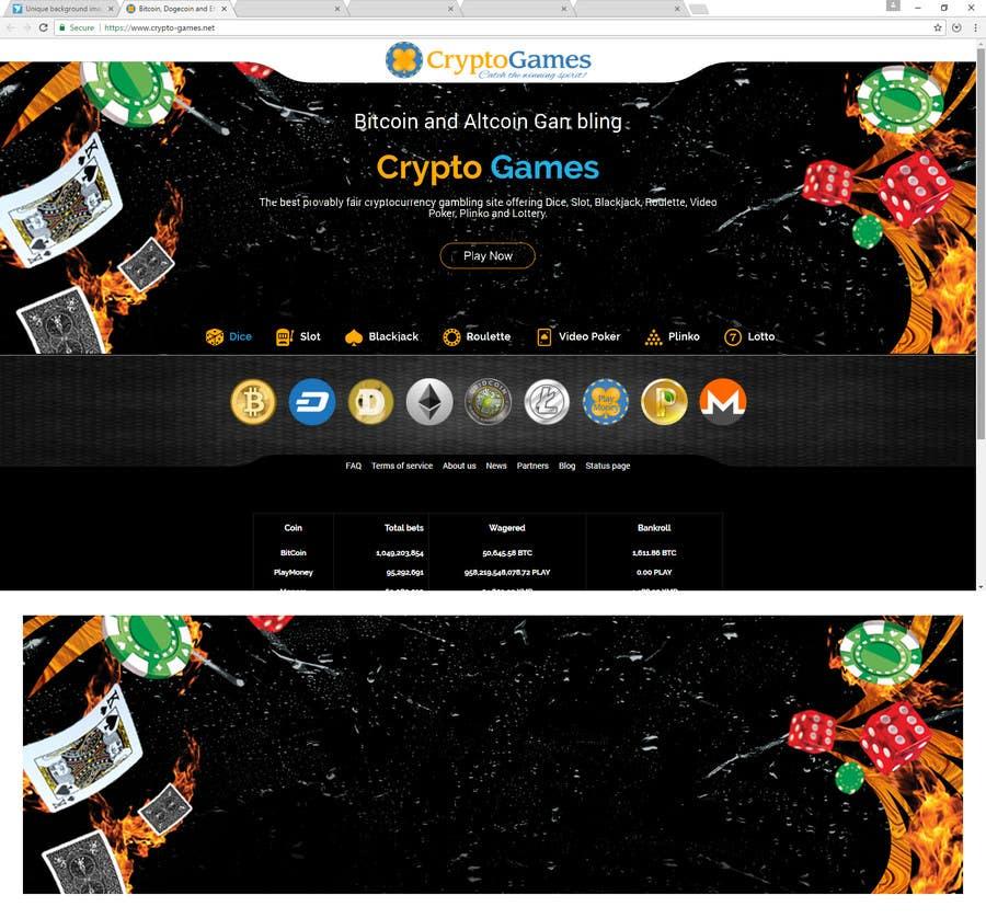 Proposition n°13 du concours Unique background image for casino website