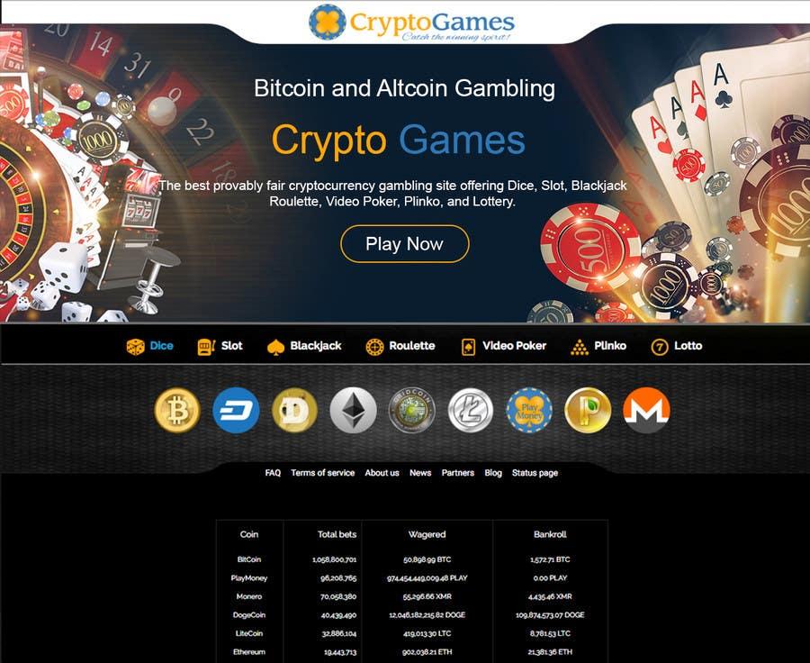 Proposition n°43 du concours Unique background image for casino website