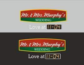 nº 12 pour Wedding Invitation Logo par dellalimov