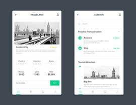 #6 for Design an App Mockup - clickable mock-up for a mobile app by bagasmr