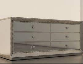 nº 42 pour 3D model this mirrored dresser par mmushulova