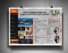 nº 2 pour Metro Caribbean Mobile App Launch Contest par victorartist