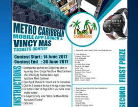 nº 18 pour Metro Caribbean Mobile App Launch Contest par rsoucenadin
