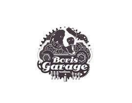 nº 13 pour Logo for BorisGarage par SamuelA314