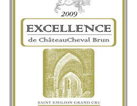 scyan tarafından Print & Packaging Design for Excellence Bordeaux Wine için no 1